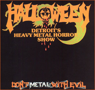 HALLOWEEN - Don't Metal With Evil cover