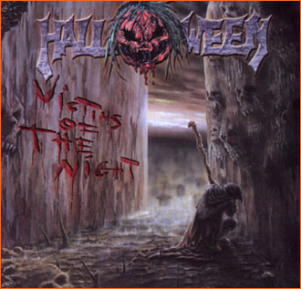 HALLOWEEN - Victims of the Night cover