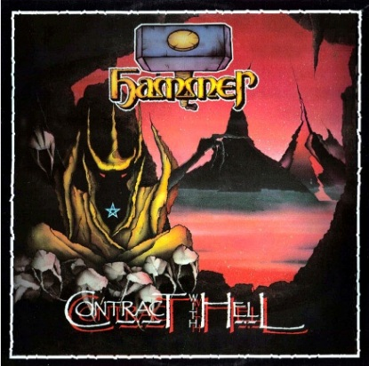 HAMMER - Contract With Hell cover