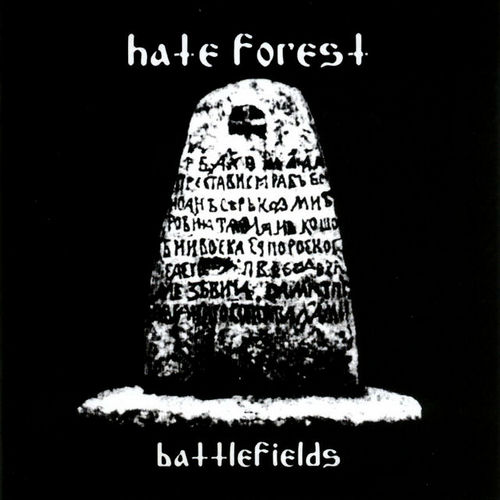 HATE FOREST - Battlefields cover