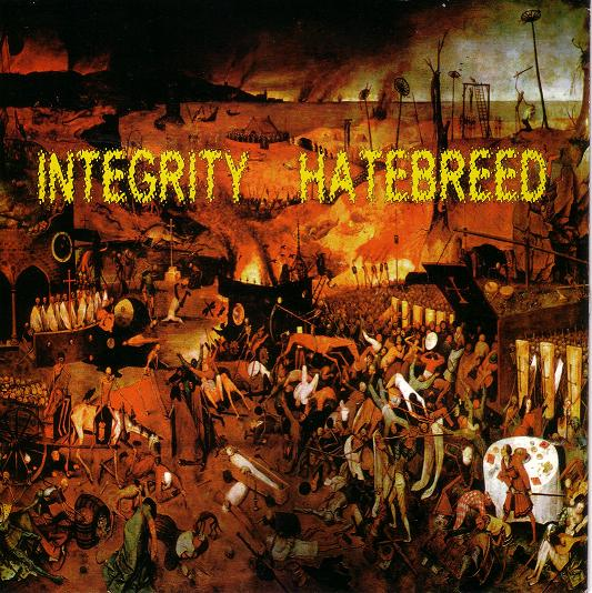 HATEBREED - Hatebreed / Integrity cover