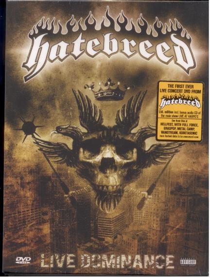 HATEBREED - Live Dominance cover