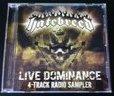 HATEBREED - Live Dominance 4-Track Radio Sampler cover