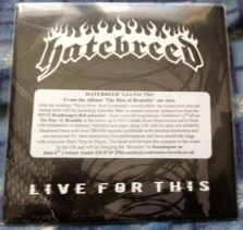 HATEBREED - Live For This cover