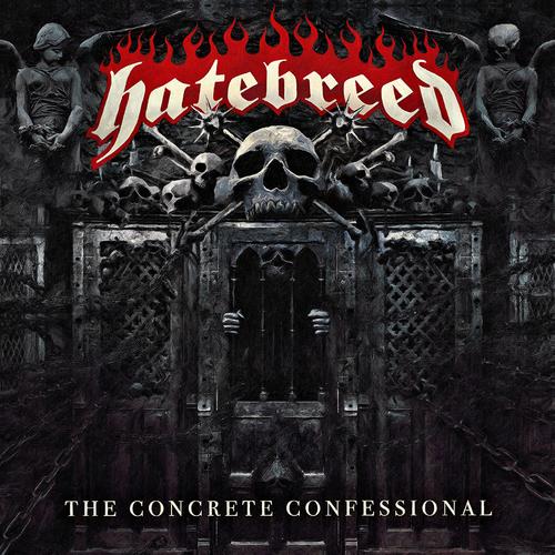 HATEBREED - The Concrete Confessional cover