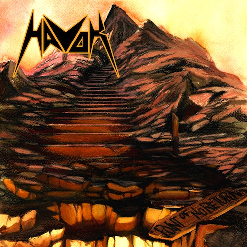 HAVOK - Point of No Return cover