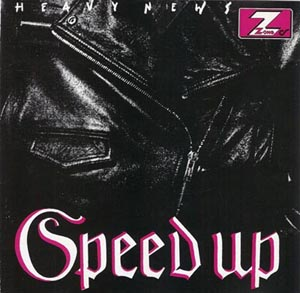 HEADLESS - Speed Up - Heavy News cover