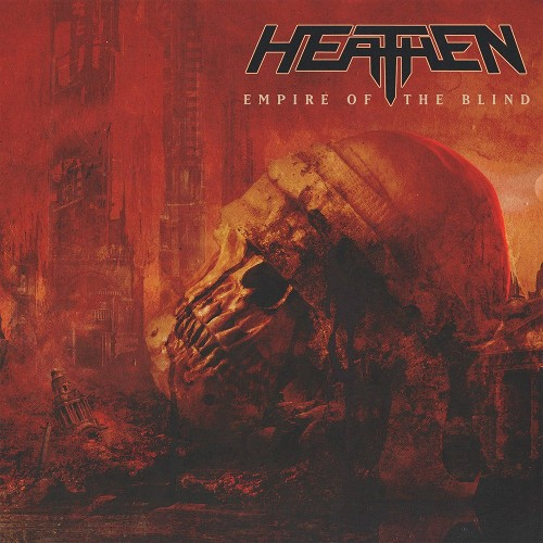 HEATHEN - Empire Of The Blind cover