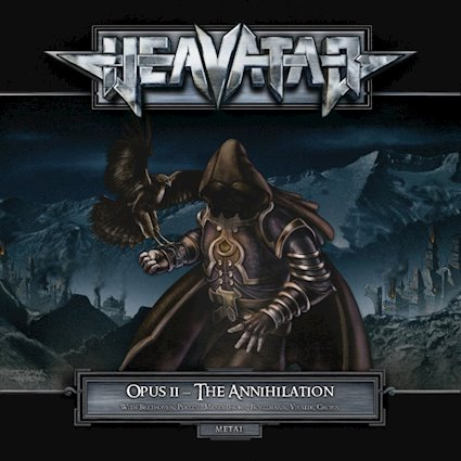 HEAVATAR - Opus II - The Annihilation cover