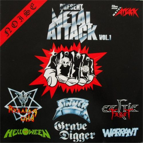 HELLOWEEN - Metal Attack Vol. 1 cover