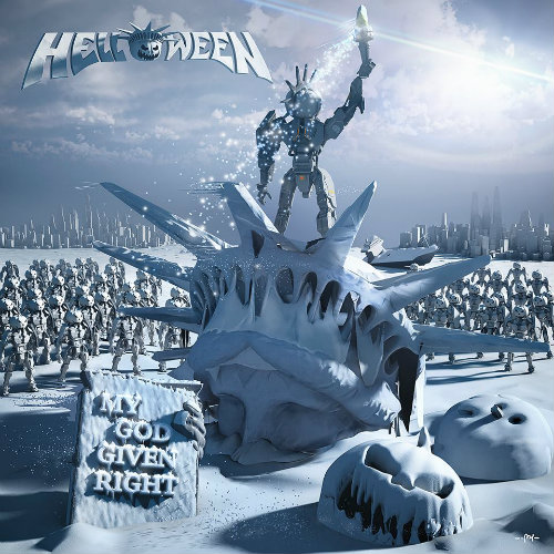 HELLOWEEN - My God-Given Right cover