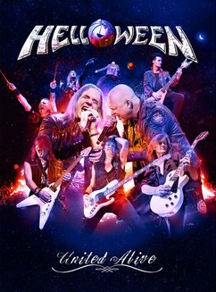 HELLOWEEN - United Alive cover