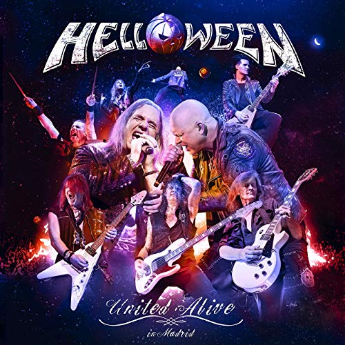 HELLOWEEN - United Alive In Madrid cover