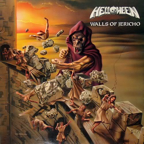 HELLOWEEN - Walls of Jericho cover