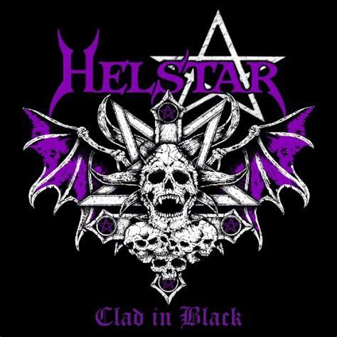 HELSTAR - Clad in Black cover