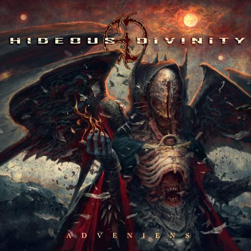 HIDEOUS DIVINITY - Adveniens cover