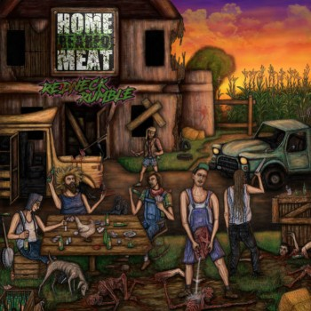 HOME REARED MEAT - Redneck Rumble cover