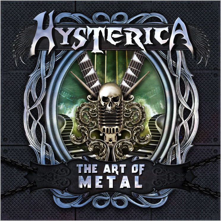 HYSTERICA - The Art of Metal cover