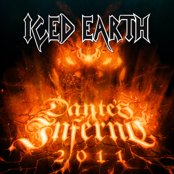 ICED EARTH - Dante's Inferno (2011) cover