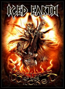 ICED EARTH - Festivals of the Wicked cover