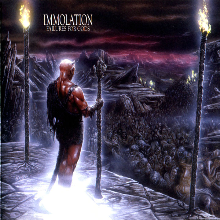 IMMOLATION - Failures for Gods cover