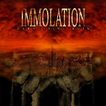 IMMOLATION - Harnessing Ruin cover