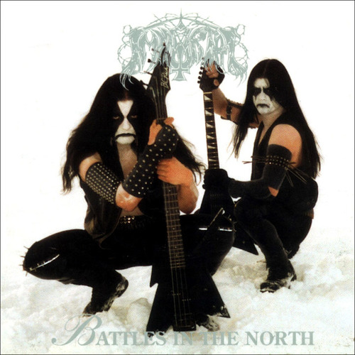 IMMORTAL - Battles in the North cover