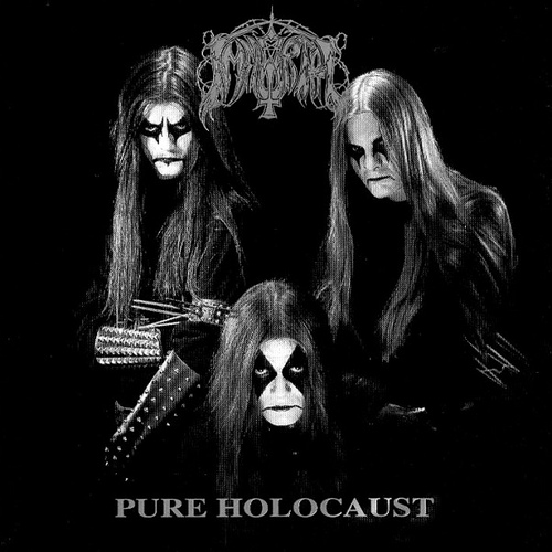 IMMORTAL - Pure Holocaust cover