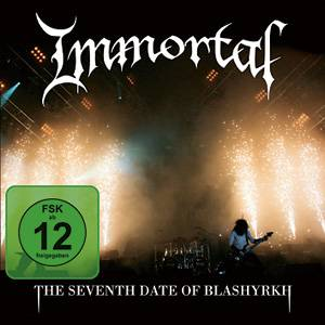 IMMORTAL - The Seventh Date of Blashyrkh cover