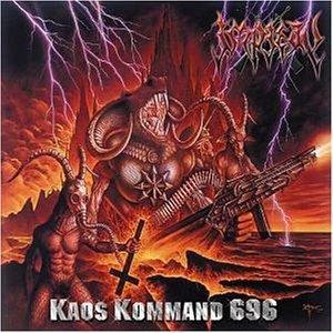 IMPIETY - Kaos Kommand 696 cover