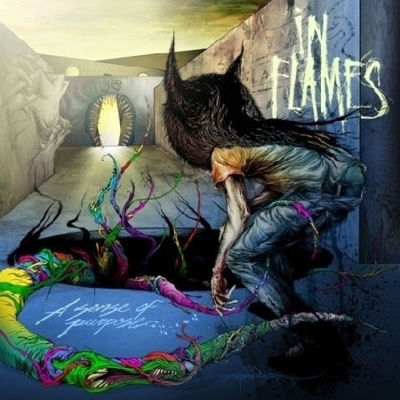 IN FLAMES - A Sense of Purpose cover