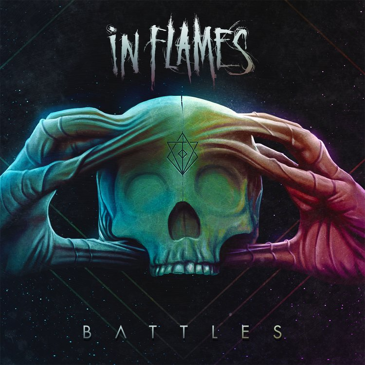 IN FLAMES - Battles cover