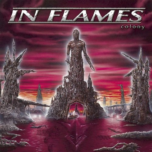IN FLAMES - Colony cover
