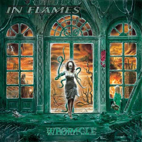 IN FLAMES - Whoracle cover