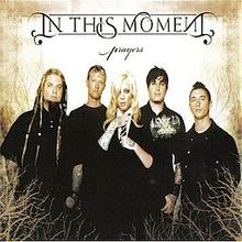 IN THIS MOMENT - Prayers cover