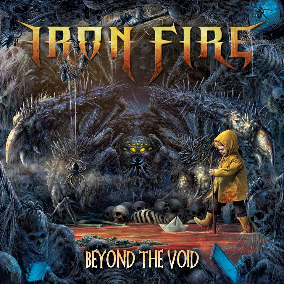 IRON FIRE - Beyond the Void cover