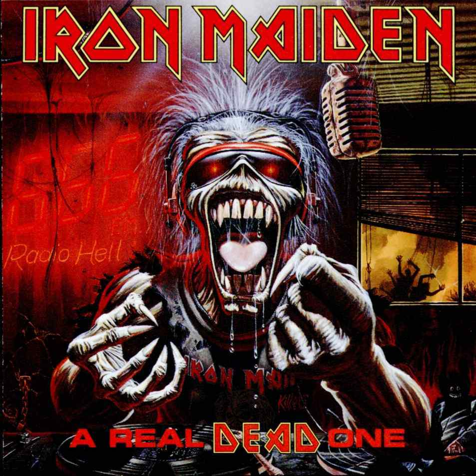 IRON MAIDEN A Real Dead One reviews