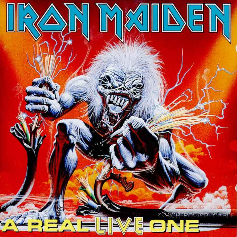 IRON MAIDEN - A Real Live One cover