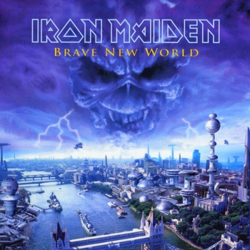 IRON MAIDEN - Brave New World cover