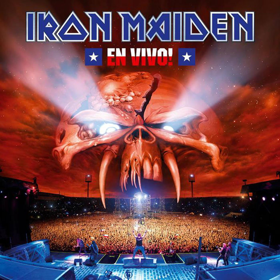 IRON MAIDEN - En Vivo! cover