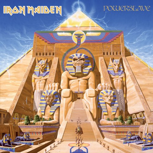 IRON MAIDEN - Powerslave cover