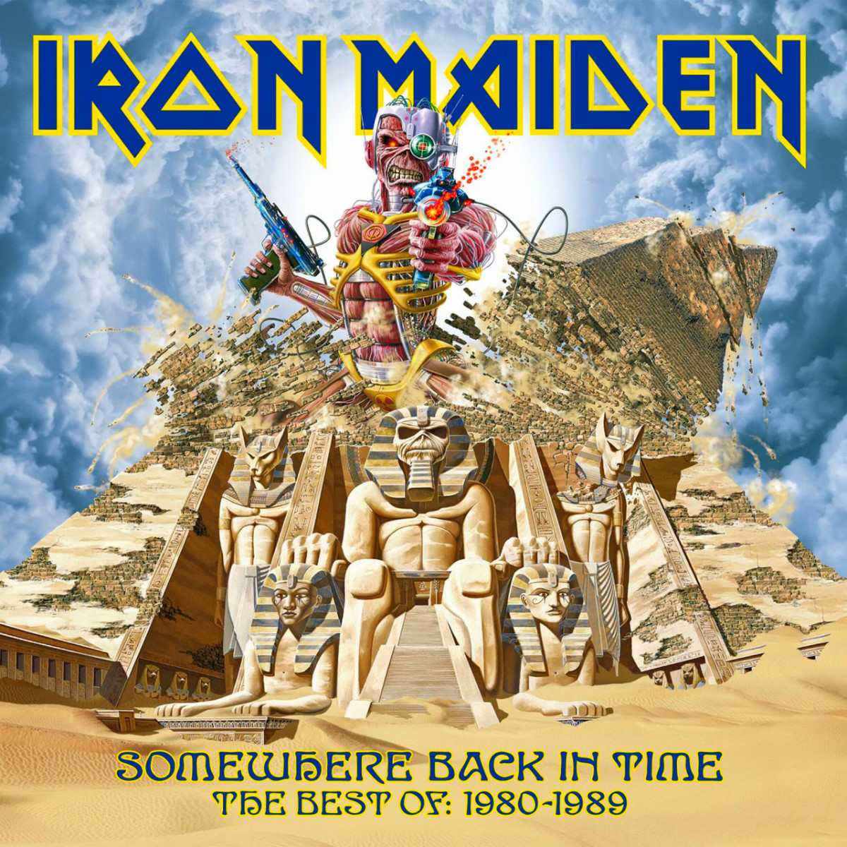 IRON MAIDEN - Somewhere Back In Time: The Best Of 1980-1989 cover