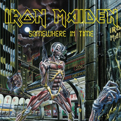 IRON MAIDEN - Somewhere In Time cover