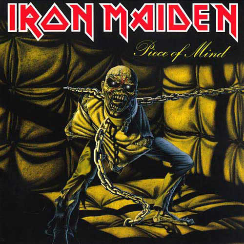 IRON MAIDEN - Piece Of Mind cover
