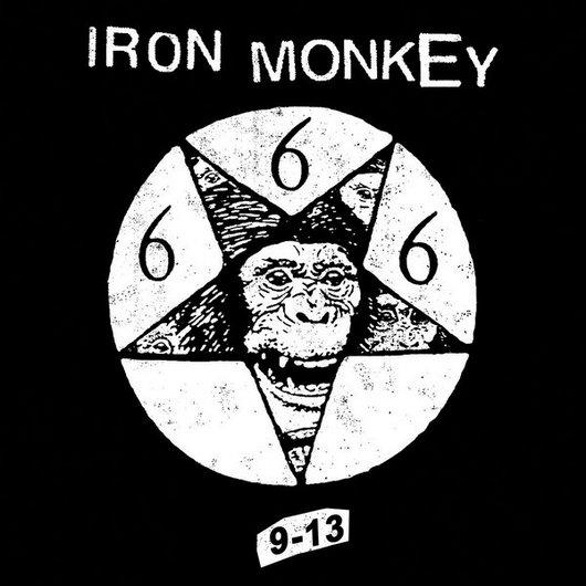 IRON MONKEY - 9-13 cover