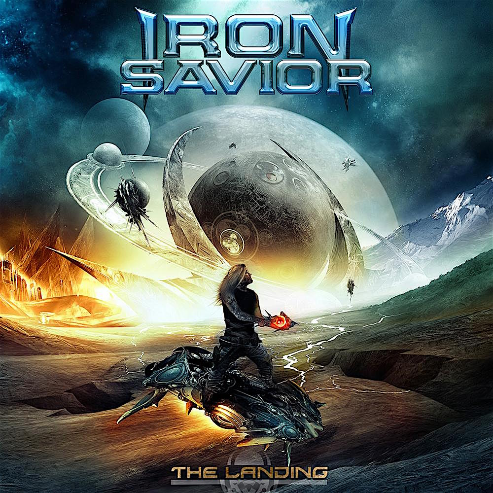 IRON SAVIOR - The Landing cover