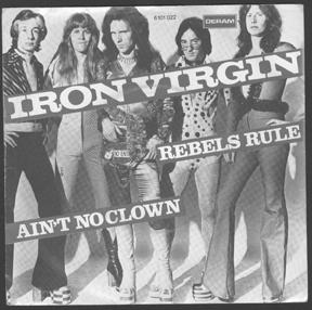 IRON VIRGIN - Rebels Rule cover
