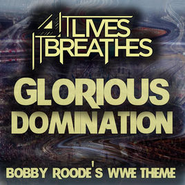 IT LIVES IT BREATHES - Glorious Domination cover