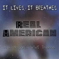 IT LIVES IT BREATHES - Real American cover