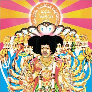 JIMI HENDRIX - Axis: Bold As Love cover